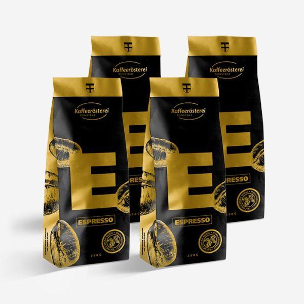 Espressoprobierpaket -Kaffeerösterei Konstanz-