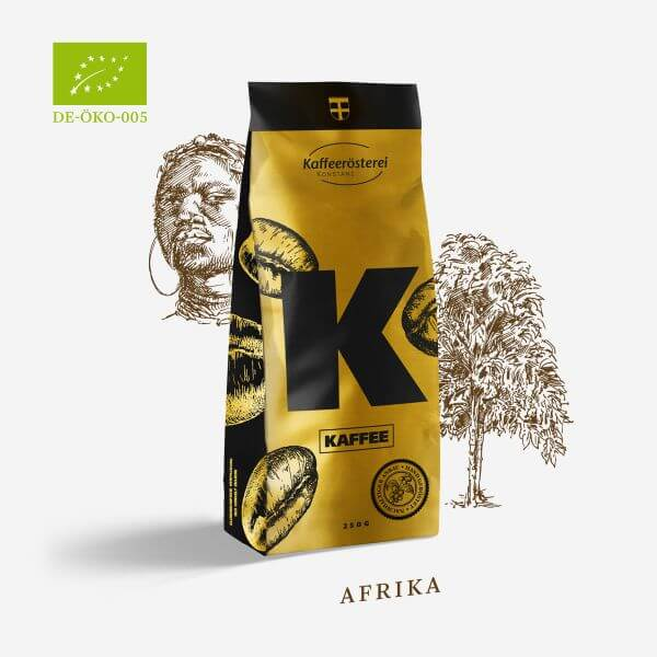 Kaffee Ethiopia Yirgacheffe Bio Organic - Kaffeerösterei Konstanz -