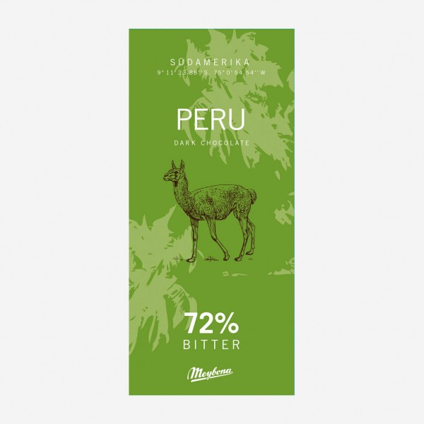 Peru Ursprungsschokolade 72%