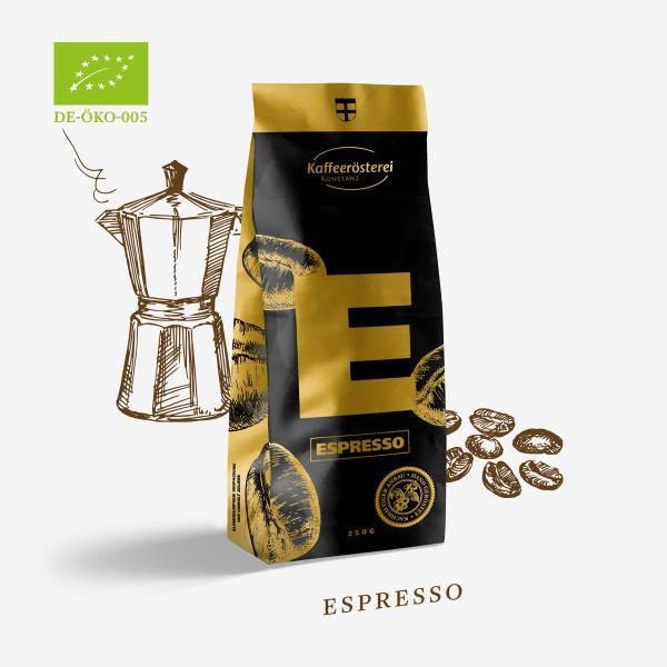 Espresso Mondo Verde Bio Organic - Kaffeerösterei Konstanz -