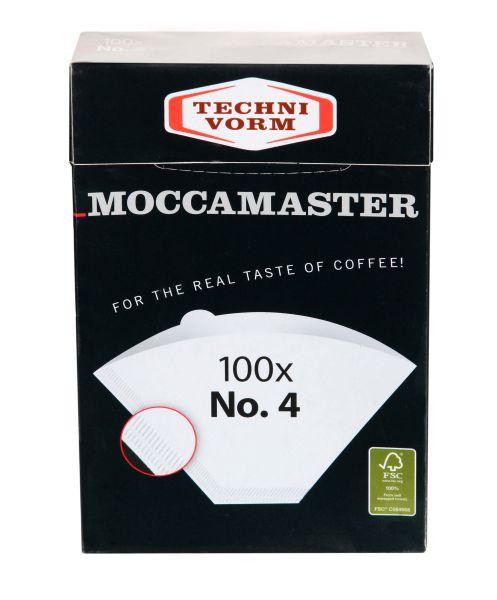 Filterpapier No.4 weiß für Mocamaster