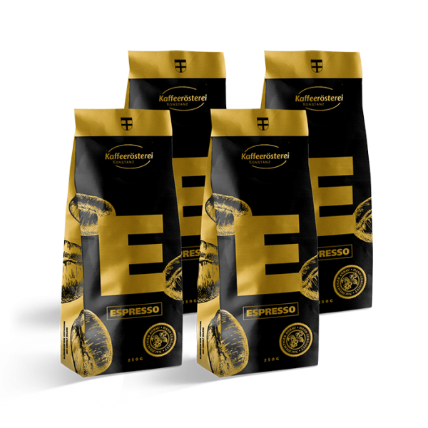 Espresso Probierpaket 4x250g