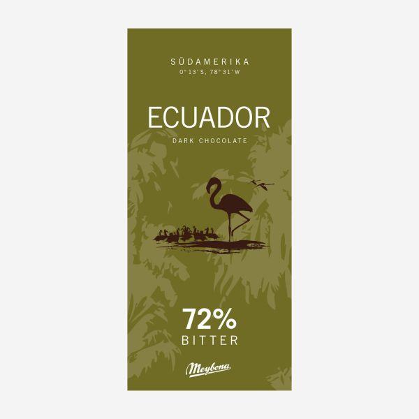 Ecuador Ursprungsschokolade 72%