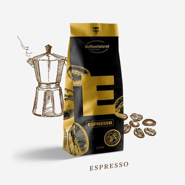 Espresso Mocca Arabica - Kaffeerösterei Konstanz -