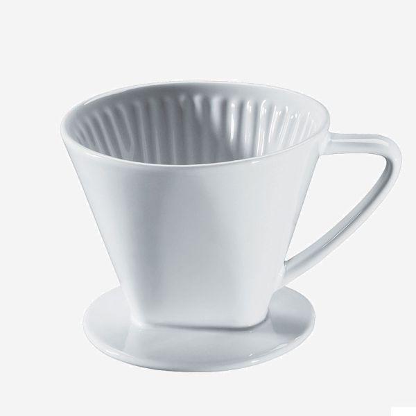 Cilio Kaffeefilter aus Porzellan Gr.2 weiß