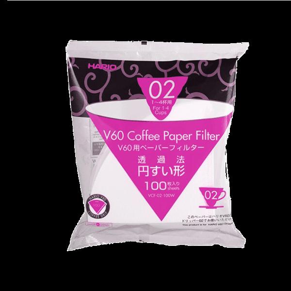 Filterpapier weiß für 02 Hario V60