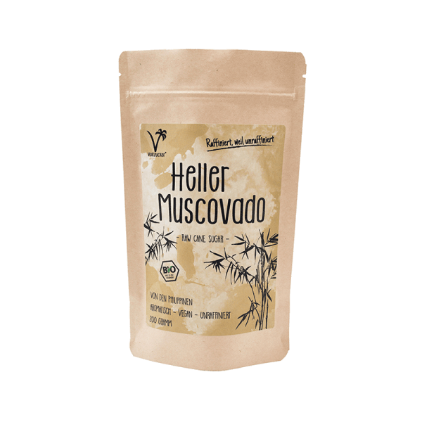 Heller Muscovado Bio Zucker 200g