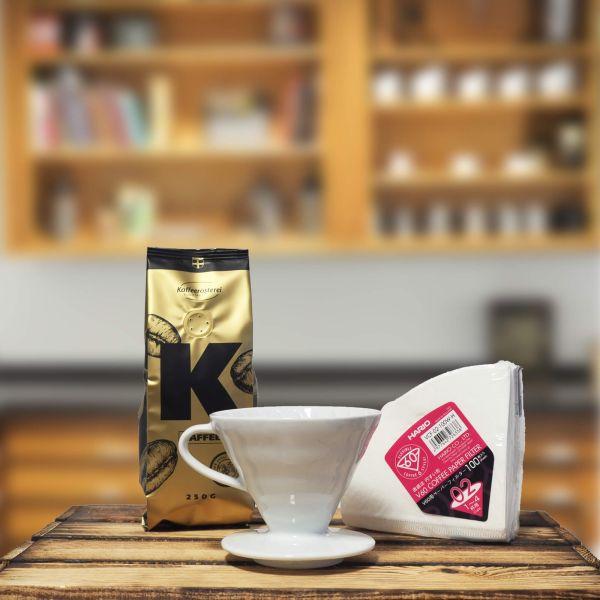 Starterpaket Hario V60 -Kaffeerösterei Konstanz-