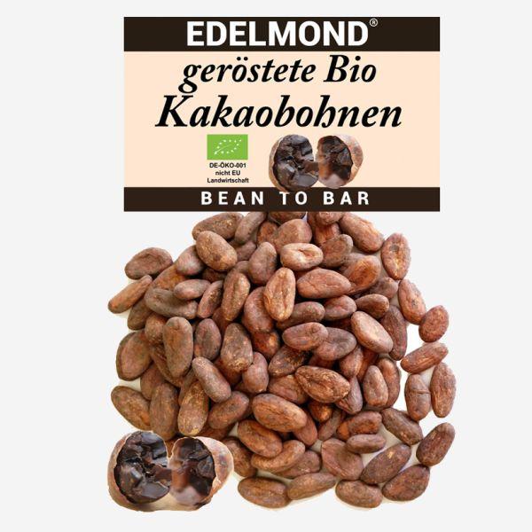 geröstete Bio Kakaobohnen