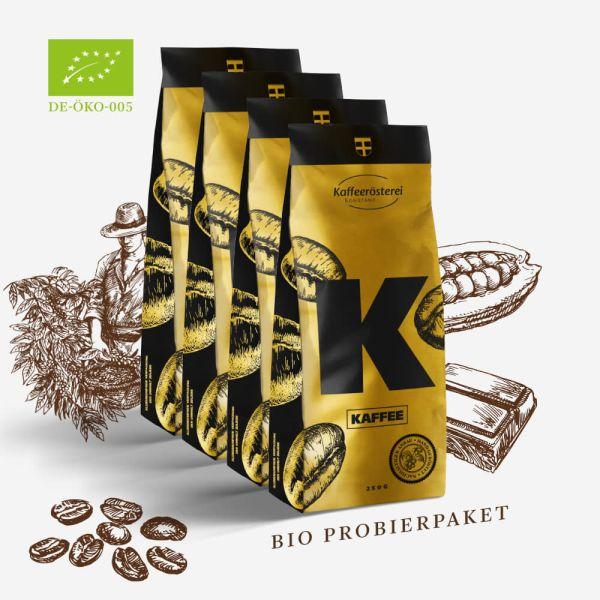 BIO - Kaffee Probierpaket 4x250g