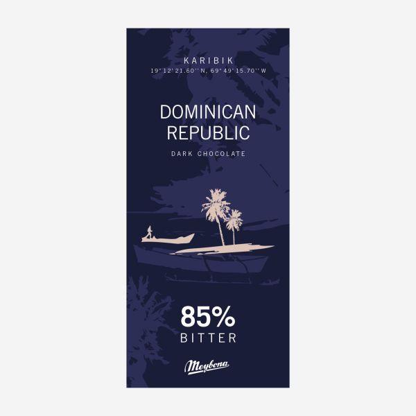 Dominikanische Republik Ursprungsschokolade 85%