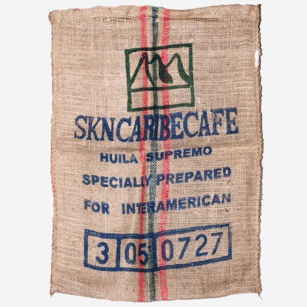 Kaffeesack, Original aus Kolumbien