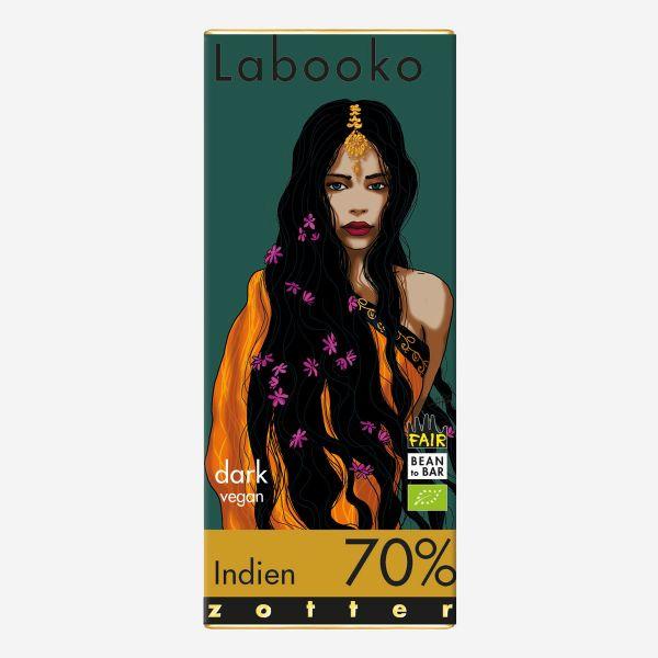 Labooko Zotter Indien 70%